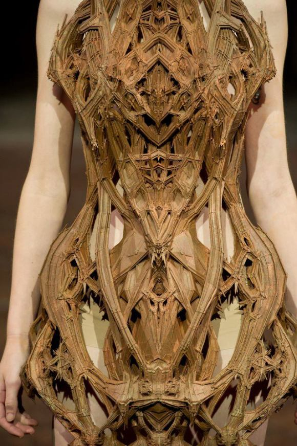 iris van herpen's cathedral dress